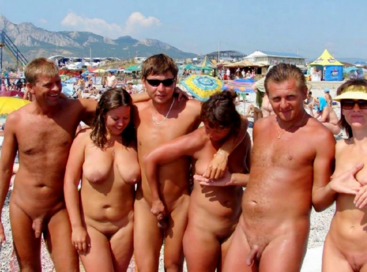 Nude nudist family