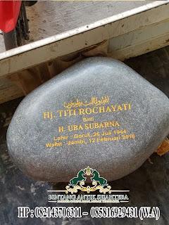 Batu Nisan Batu Alam