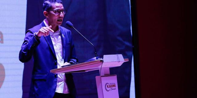 Wow, Sandi Uno Ungkap Ancaman yang Datang dari China dan India