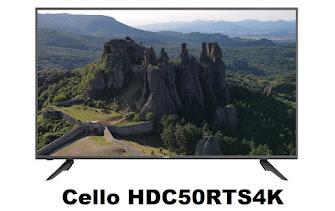Cello HDC50RTS4K 4k TV