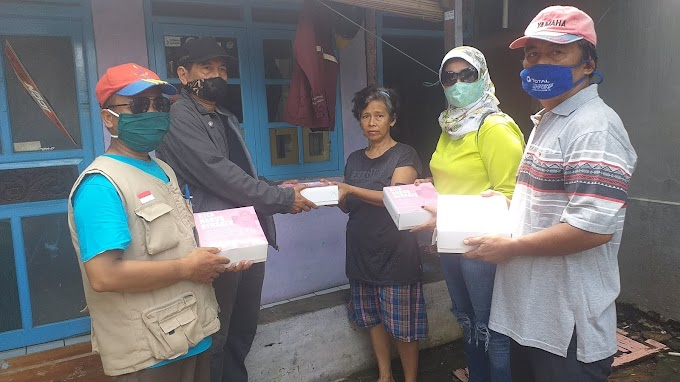 250 Nasi Kotak Gratis Buat Warga kelurahan Mekarsari