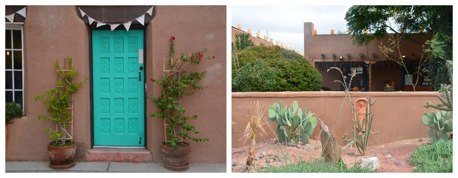 Dans la vieille ville de Las Cruces