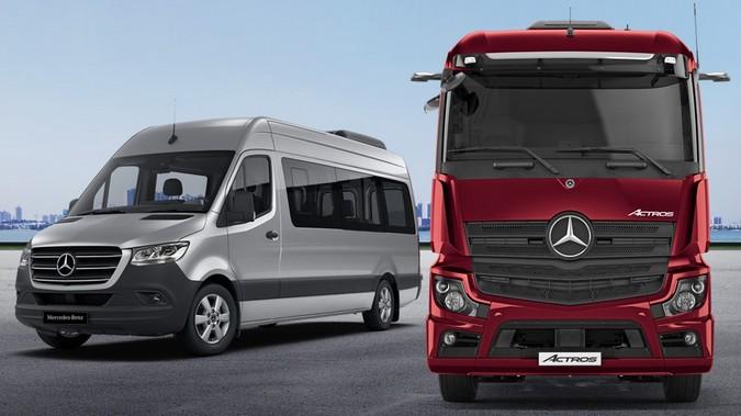 Mercedes-Benz é triplamente vitoriosa no Prêmio Top of Mind do Transporte