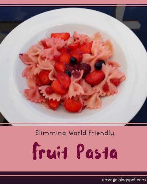 Fruit pasta