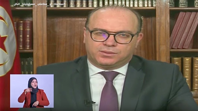 فيروس كورونا: رئيس الحكومة إلياس الفخفاخ يغلق الحدود الجويّة والبحرية