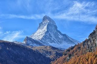 Le Cervin - symbole de la Suisse