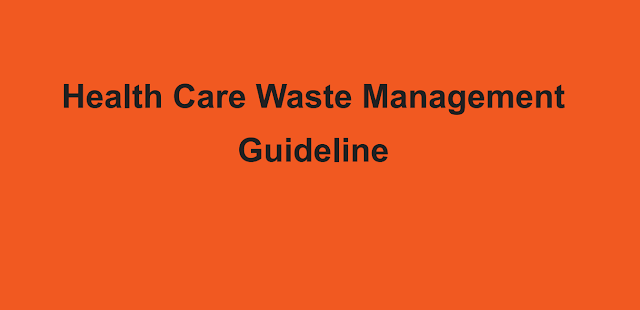 Health Care Waste Management Guideline Nepal