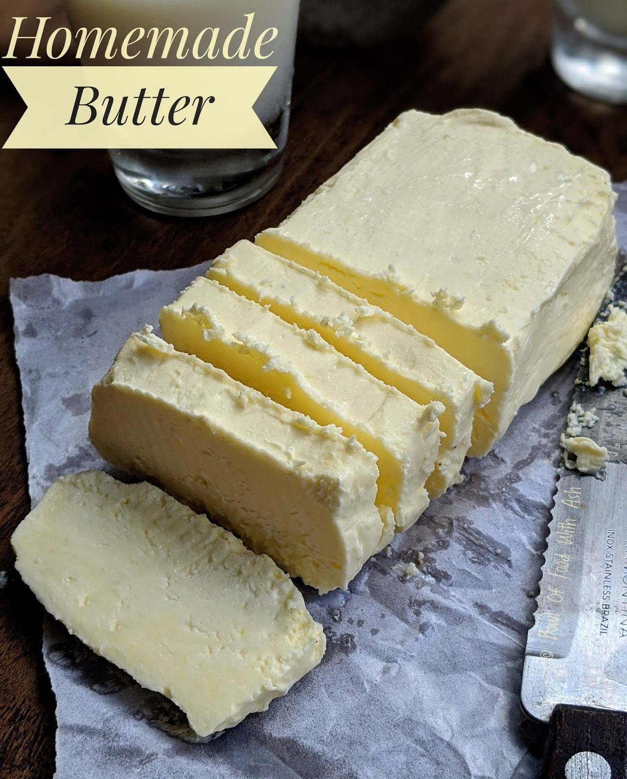Homemade Butter Recipe | How to Make Butter at Home