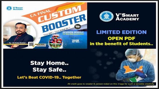 CA Final IDT Custom Booster