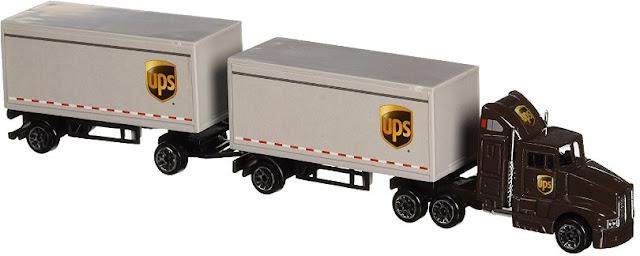mainan truk gandeng besar