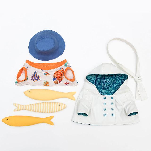 комплект одежды для игрушки кота, сшитые по моим выкройкам и мк