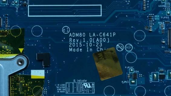 LA-C641P Rev1.0 (A00) ADM80 Dell E5570 Bios