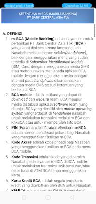 Cara Daftar M banking BCA dan Aktivasi M BCA di Android