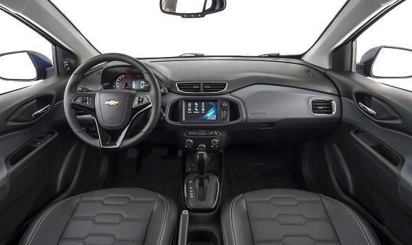 Interior Chevrolet Prisma Argentina 2019