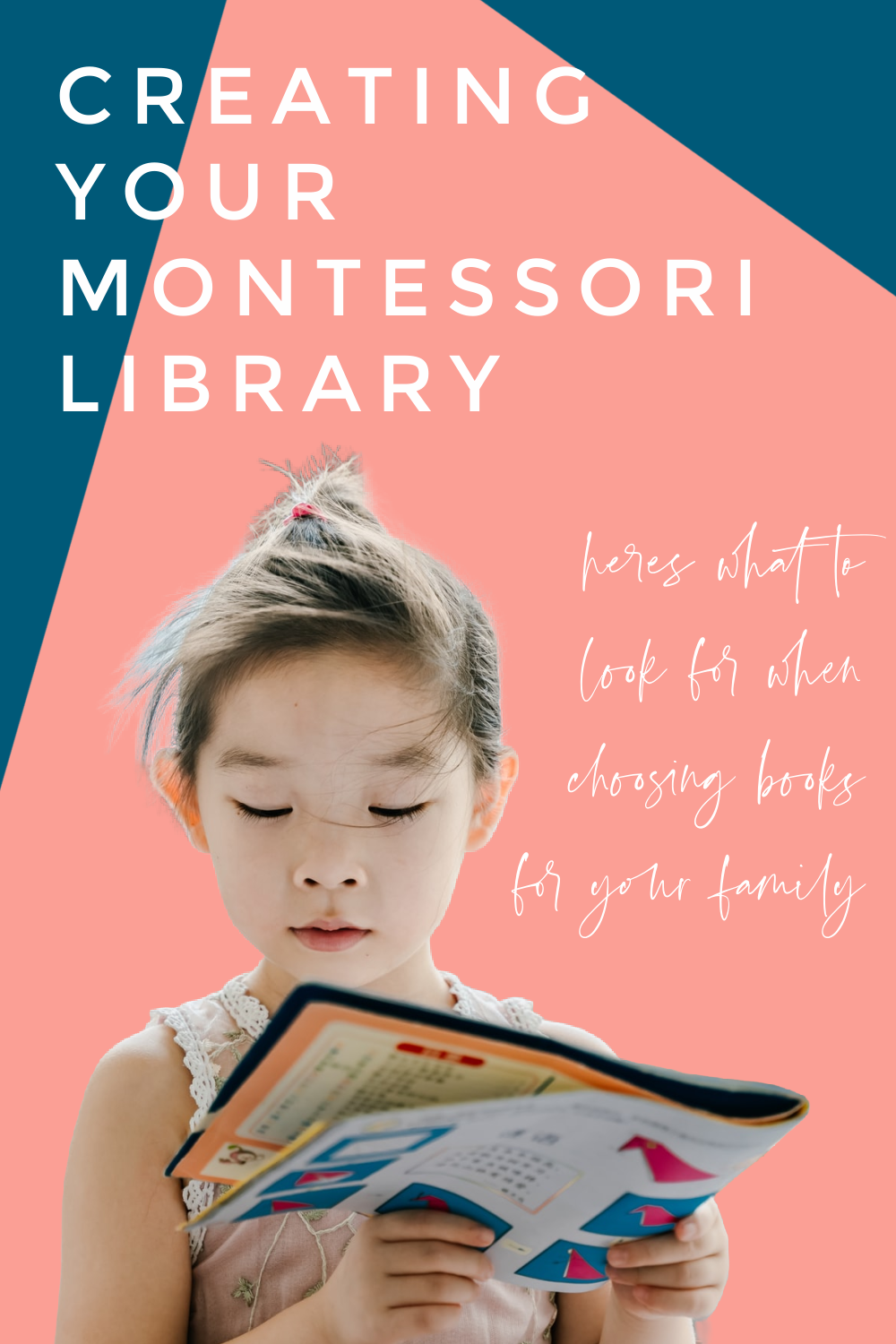 In this Montessori parenting podcast learn about the qualities of Montessori friendly books and learn how to approach reading with your child.