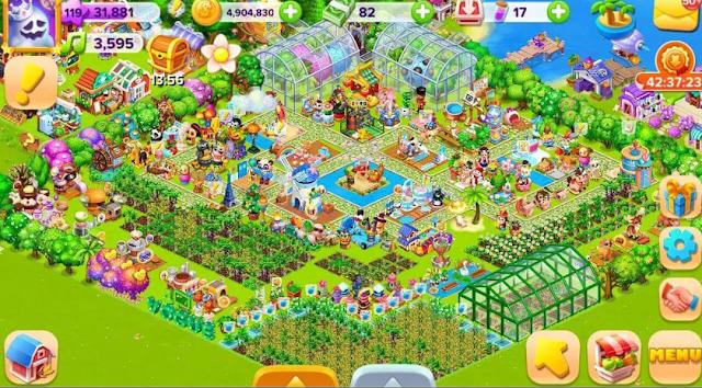 تحميل لعبة المزرعة السعيدة  Happy Farm 2021 للاندرويد