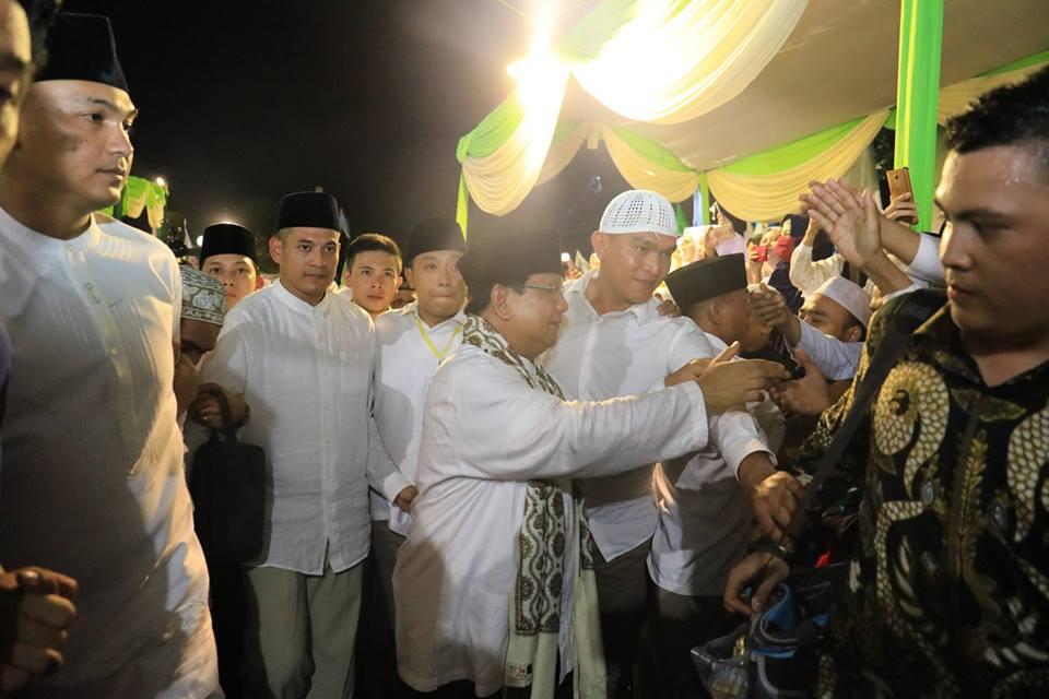 Prabowo Siap Turunkan Relawan ke Sulawesi Tengah