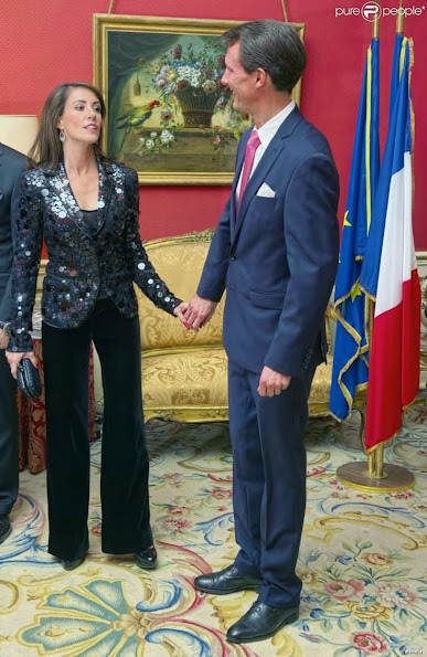 Prince Joachim and Princess Marie attended the gala dinner with French Ambassador Francois Zimeray