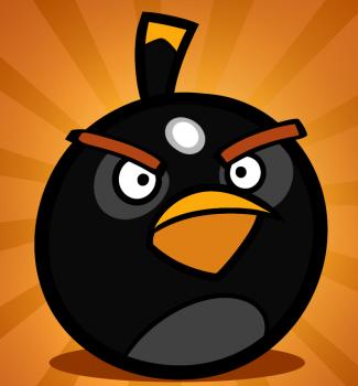 Como Desenhar 10 Como Desenhar Os Angry Birds Bomb Bird