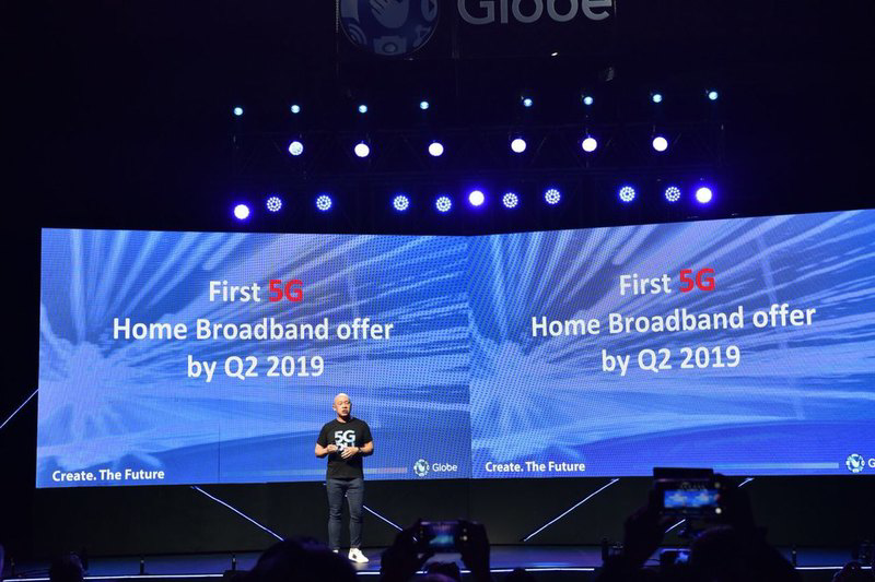 Globe 5G At Home offers up to 100 Mbps speeds with 2TB cap