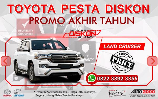 Promo Akhir Tahun Toyota Land Cruiser Surabaya