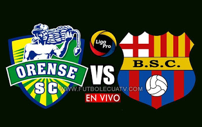 Orense recibe a Barcelona SC en vivo a partir de las 15h30 horario local, por la jornada nueve del campeonato ecuatoriano, siendo emitido por GolTV Ecuador a disputarse en el estadio 9 de Mayo. Con arbitraje principal de Mario Romero.