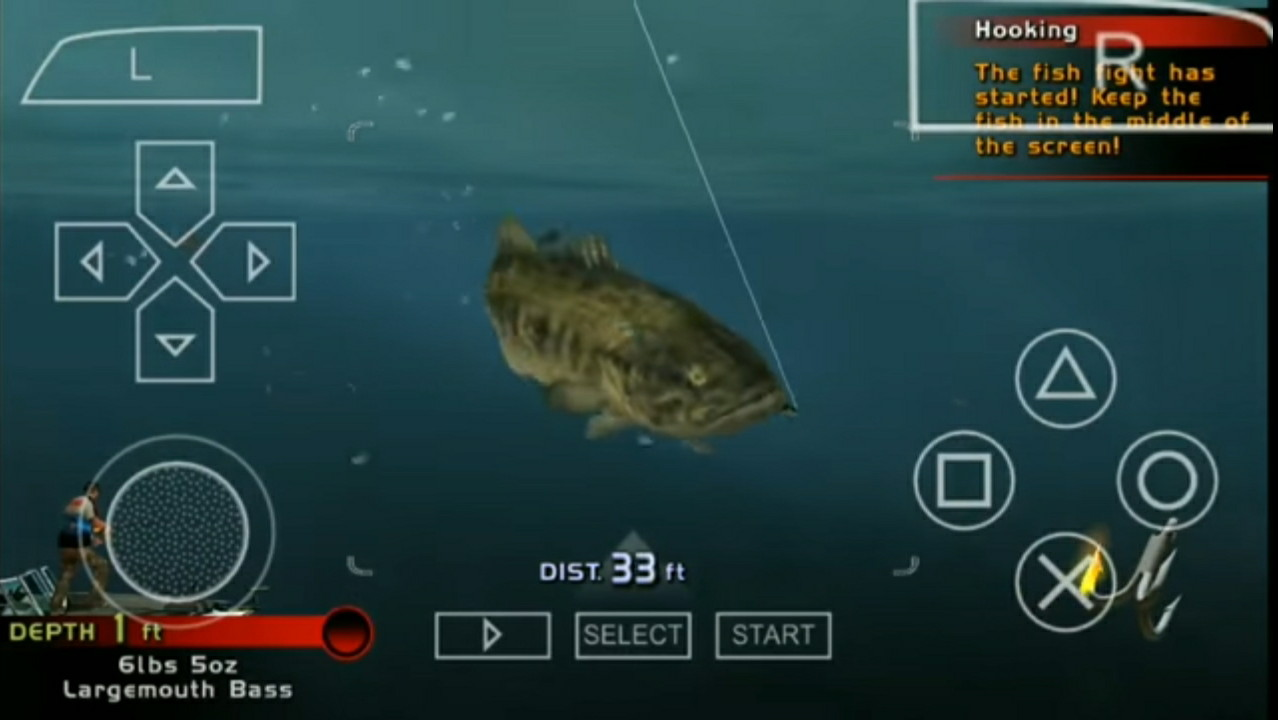 Download Rapala Bass Fishing USA ISO PPSSPP For Android