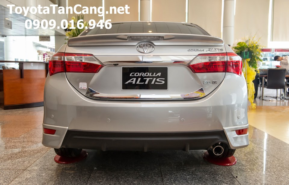 corolla altis 20 v toyota tan cang 14 - Đánh giá Toyota Corolla Altis 2.0V CVT 2015 - Giá trị đến từng chi tiết - Muaxegiatot.vn