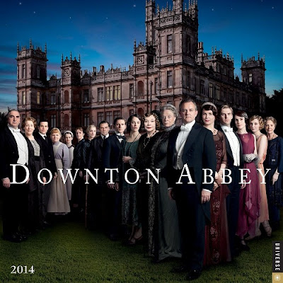 Downton Abbey 2014 Calendar