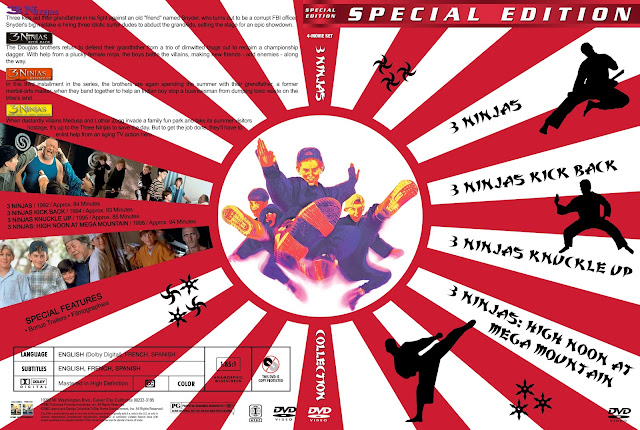 3 Ninjas Collection DVD Cover