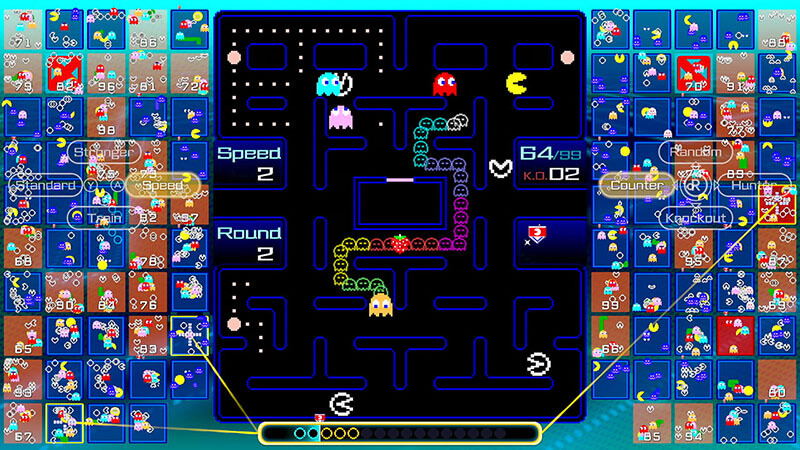 PAC-MAN 99 battle royale launched on Switch