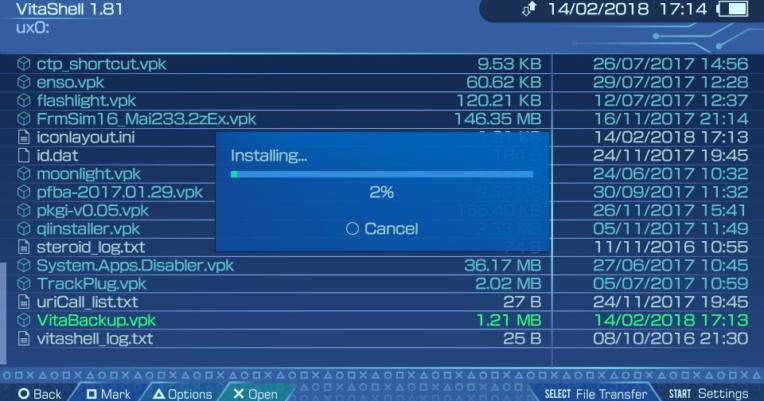 VitaShell v2 0 Released