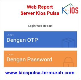 Web Report Server Kios Pulsa