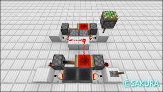 マインクラフトのクロック回路、ラブドロッパーとラブホッパー使った約3日間隔のクロック回路