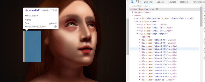 Arte en CSS y no hablamos de webs preciosas