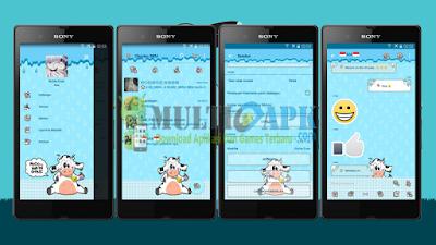 BBM Mod Moo/Sapi v2.13.1.14 Apk Clone
