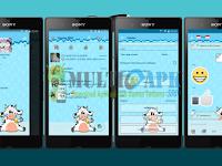 BBM Mod Moo/Sapi 2.13.1.14 Apk Clone