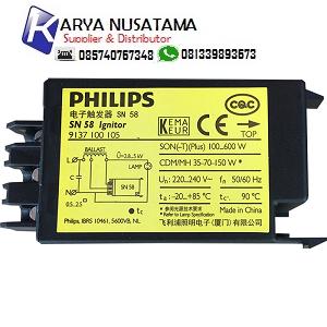 Jual Ignitor Lampu Philips SN 58 220-240V di Surabaya