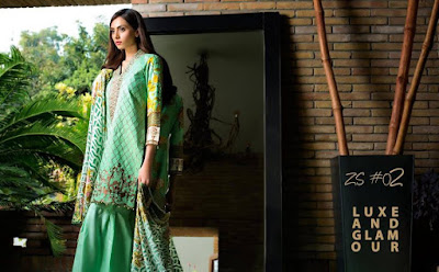 ZS-textiles-winter-embroidered-dresses-collection-2016-with-velvet-dupatta-8