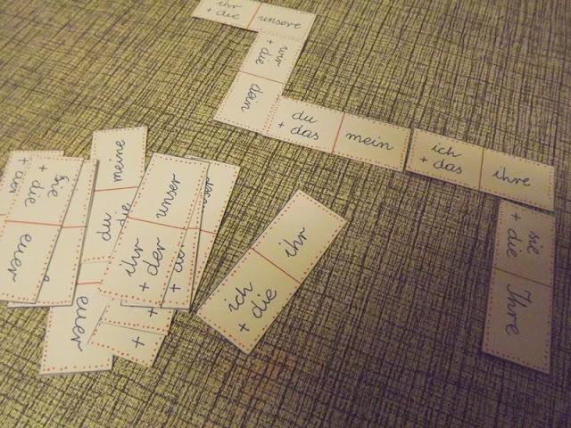 domino językowe