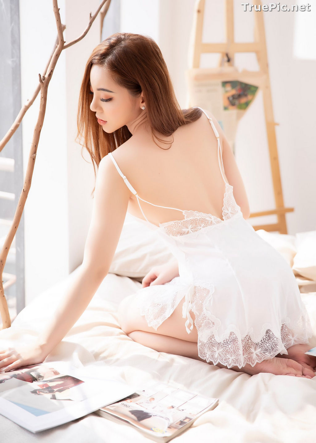 Image Vietnamese Model – Hot Beautiful Girls In White Collection #2 - TruePic.net - Picture-6