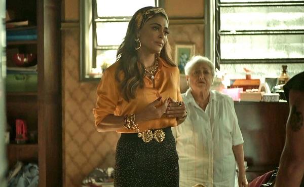 Maria da Paz é expulsa da casa de Eusébio após acusar Rock (Imagem: Reprodução/TV Globo)