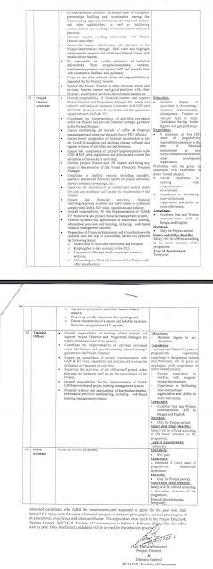 Ministry of Commerce Mincom Job 2021