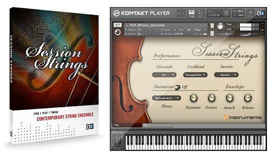 NI Session Strings Conjunto de Instrumentos de Cuerda VST