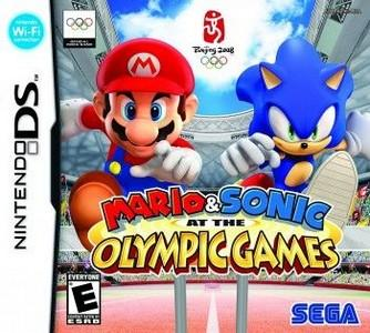 Rom Mario & Sonic at the Olympic Game NDS