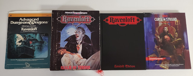 Ravenloft through the editions