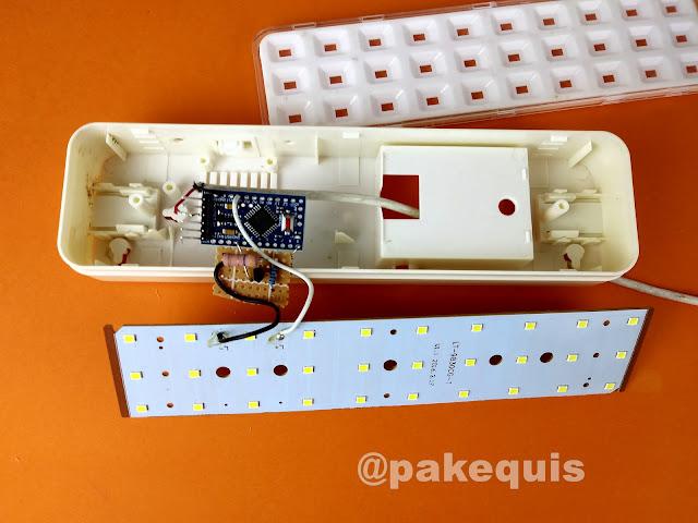 Quake LED flicker