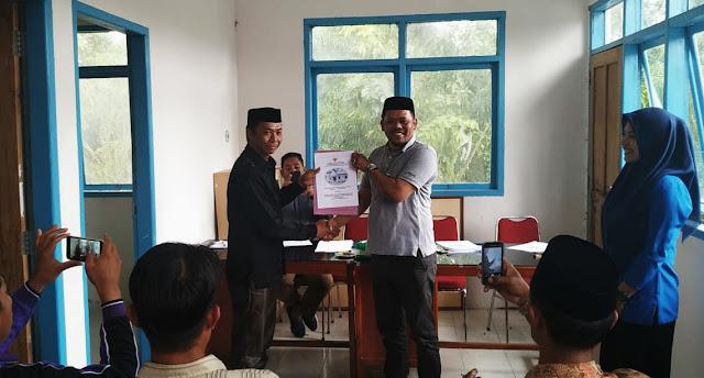 Serahkan LKPJ ke BPD, Alimuddin Paparkan Realisasi, dan Capaian Pembangunan Desa Bungaiya