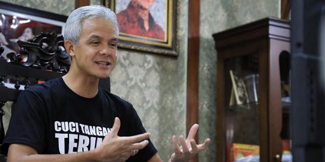 Jawaban Santai Ganjar Yang Tidak Diundang PDIP Jateng Dan Disindir Puan Maharani