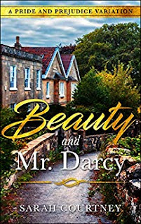 Book cover: Beauty and Mr. Darcy by Sarah Courtney